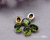 Olivine Green Vintage Swa...