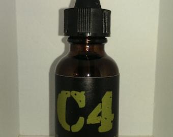 C4 Nitroglycerin Beard Oil