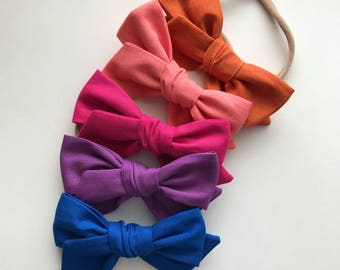 Mini Pinwheel Bows