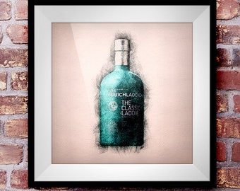 The Classic Laddie - Crosshatch Whisky Wall Art