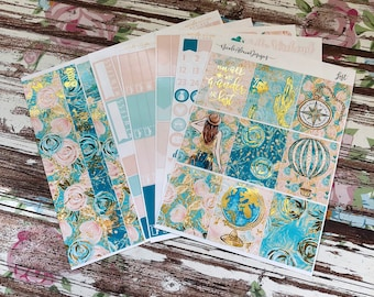 FOIL Lost Deluxe Kit, planner stickers