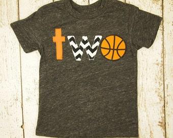 Basketball birthday shirt, basketball party, sports birthday, first birthday second tee boys tshirt sports tee sports party, birthday shirt