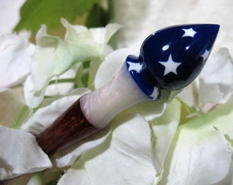 Hair stick Acrylic The Patriot--Longer