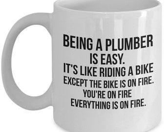 Plumber Gift, Plumber Mug, Gift For Plumber, Funny Plumber Mug, Funny Plumber Gift, Plumber, Plumber Coffee Mug