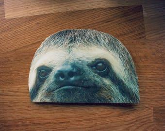 Sloth Head Window Sticker | Car Decal (Free Shipping US)