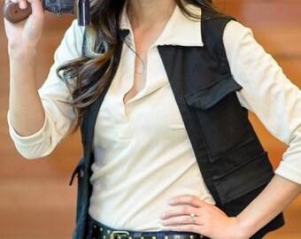 Han Solo Star Wars A New Hope Replica Vest (Women's)