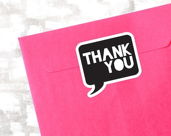 Thank You Stickers | Packaging Thank You Labels | Poshmark Thank You Stickers | Gift Bag Sticker Sheet | Packaging Stickers | Etsy Stickers