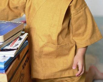KIDS KIMONO - PDF e pattern - Kids Jinbei - size 6Y