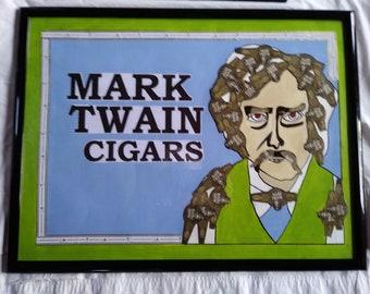 Mark Twain Cigar band poster