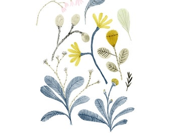 Archival Art Print - Botanical Collection