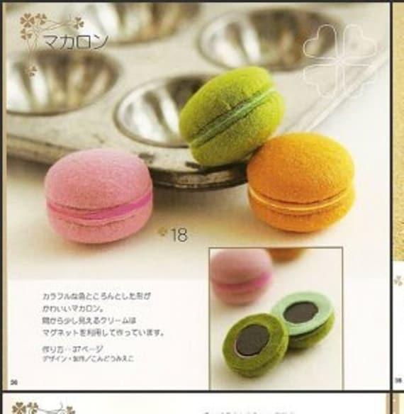 Fieltro patrones de dulces PDF envío gratis Kawaii Ebook