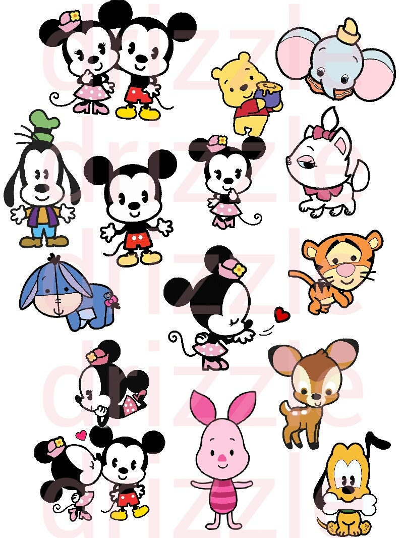 Disney Cuties Disney Stickers Disney Clipart Disney