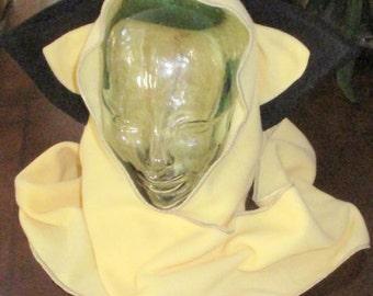 Pichu fleece ear scarf hoodie hats