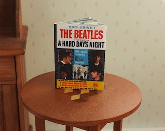 Dolls House Magazine of The Beatles in A Hard Days Night.