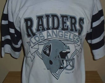 04b5aaa35e2 ... reduced vintage los angeles raiders jersey t shirt large 8085e 88e43
