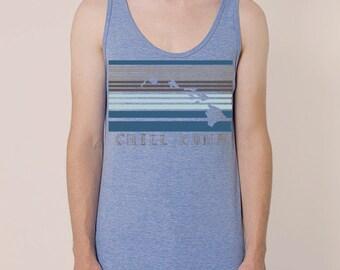 Chill Kona printed on American Apparel Tank