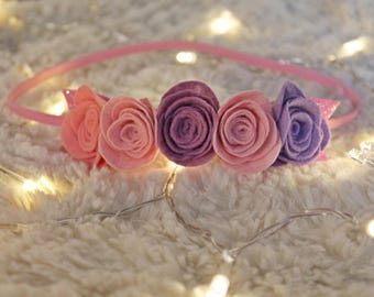 Band for girls Lilac Dream
