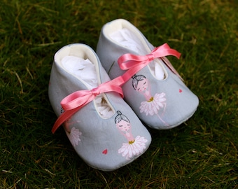 Ballerina Baby shoes - Several Sizes