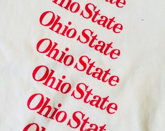 Ohio State Vintage Made In USA T-Shirt