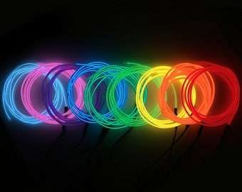 Neon EL Wire 9FT (8 Colors)