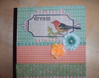 Dream Journal Altered Composition Book