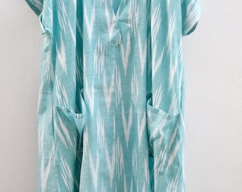 Miyaki Ikat Dress