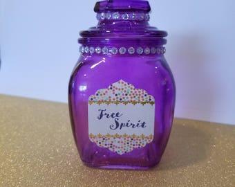 Glass Stash Jar