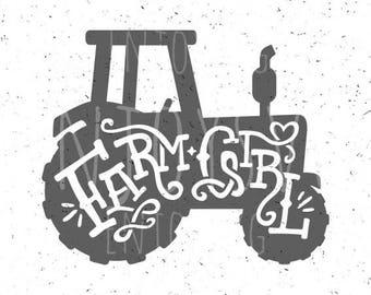 Farm svg, Farm Girl svg, Future farmer svg, Farmer girl svg, Farm SVG file, Country Farm girl Svg Tractor svg file Tractor svg Farmer svg