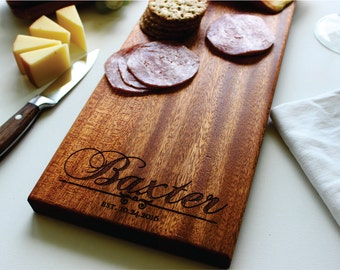 Personalized Cheese Board, Charcuterie Board, Engraved, Christmas Gift, Husband Gift, Kitchen Decor, Wife Gift, Gift For Her, Husband Gift