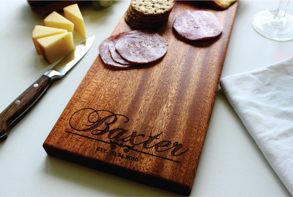 Personalized Cheese Board Charcuterie Board Engraved