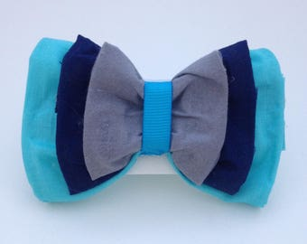 Inside Out Sadness Inspired Hair bow