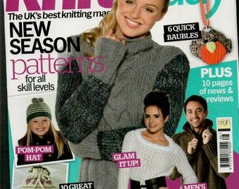 Knit Today Knitting Magazine Issue 66 November 2011