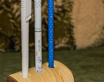 Solid wood pen holder office furniture desk furniture Design Object