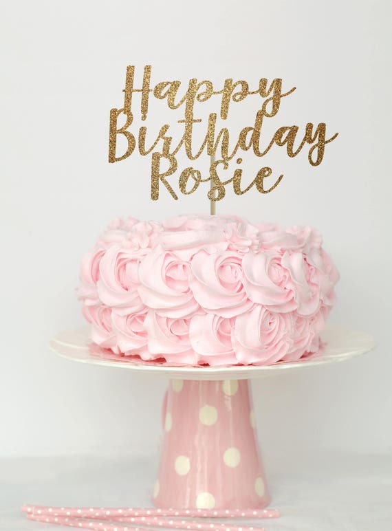 Happy Birthday Cake Topper Birthday Cake Topper Cake Topper