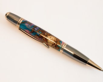 Hand Turned Pine Cone Pen