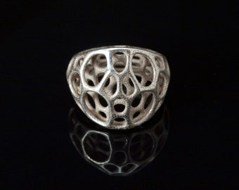 2-layer center ring (3D printed stainless steel)