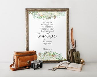 Love printable, Printable verses, Wedding quote from the bible Wedding gift decor Christian wall art Marriage quote sign Scripture art BD918