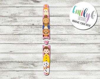 Beauty and the Beast Waterproof Disney Magic Band Skin or Decal 1.0 | Custom Magic Band Stickers | RTS Ready To Ship