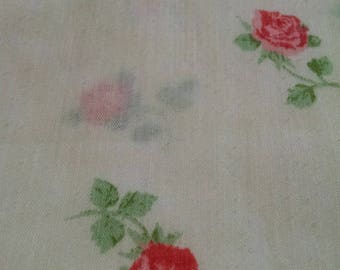 vintage queen Thomaston sheet 50/50 flat