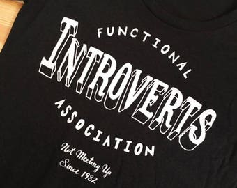 Functional Introverts Association Women's Shirt