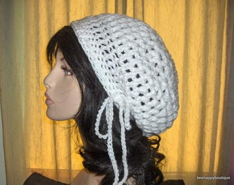 PATTERN Puffy Womens Bubble Slouchy Hat PATTERN Womens Crochet Puffy Tam Hat Yarn Crochet Slouchy Womens Hat Pattern