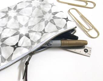 Zippered Pouch, Pencil Case, Catch-All Case | TILE Print