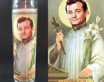 Bill Murray Devotional Prayer Saint Candle