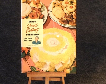 Spry Recipe Book - Vintage 1949 - Aunt Jenny's Can't Fail Pastry Method
