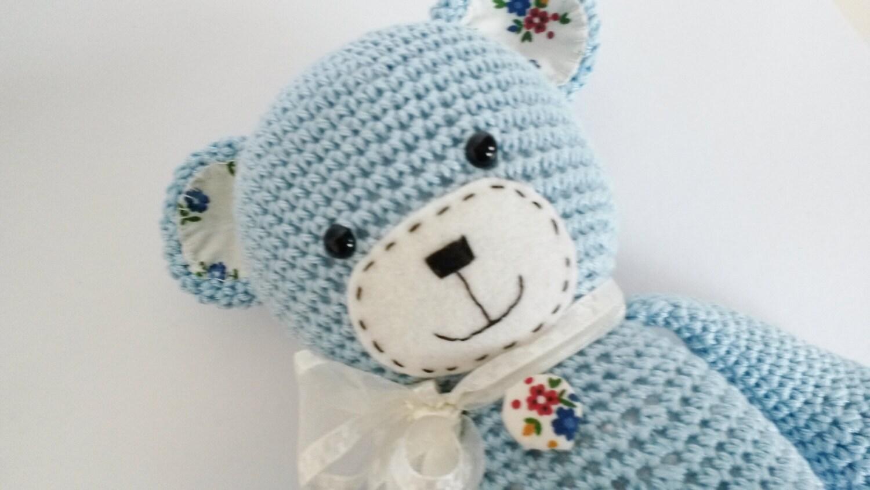 Amigurumi Teddybär süffisant-Bär Muster Lilleliis häkeln