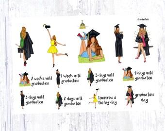 Graduation Sticker Set