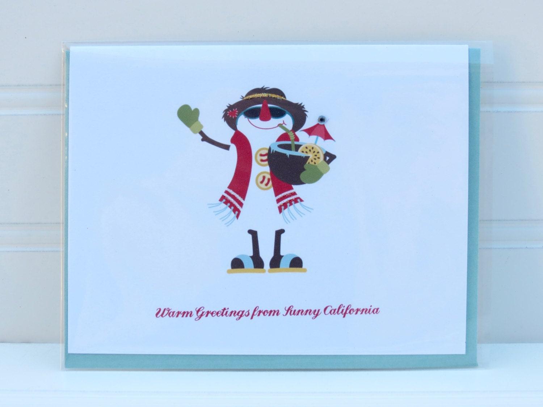 Beach christmas card california christmas florida texas zoom kristyandbryce Image collections