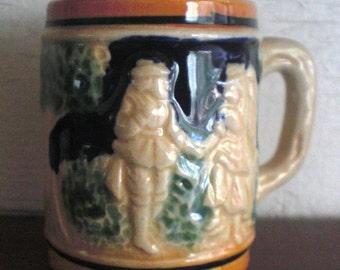 Tyrolian Mug Shot Glass Toothpick Holder