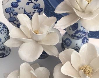 Porcelain Magnolia Blossom