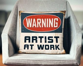 Artist Gift | Gift for Artist | Artist Decor | Artist Pillow Case | Art Teacher Gift | Painter Gift | Gift for Painter